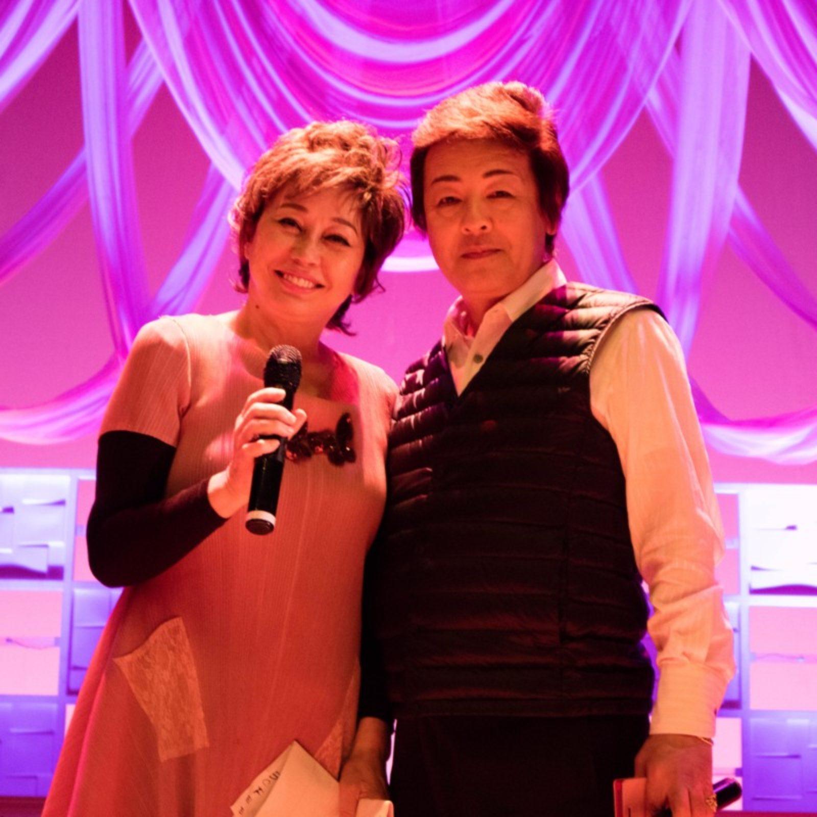 朝倉由美子さんとリハーサル