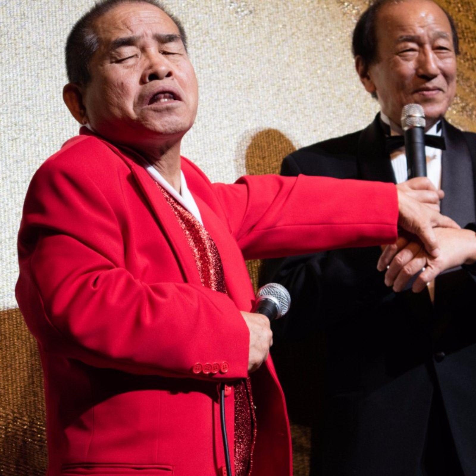 司会ミスター富士山と三木ひろし先輩