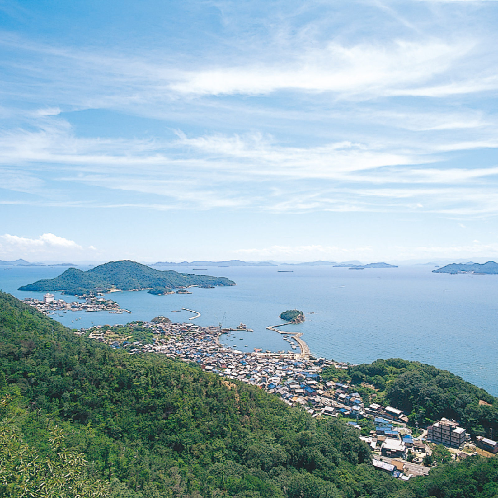 仙酔島遠景